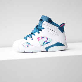 "AIR JORDAN JORDAN 6 (PS) ""GREEN ABYSS"""