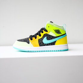 "AIR JORDAN AIR JORDAN 1 MID (PS) ""MULTI"""