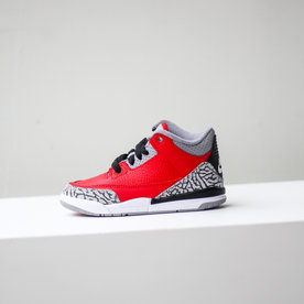 "AIR JORDAN JORDAN 3 RETRO SE (TD) ""FIRE RED"""