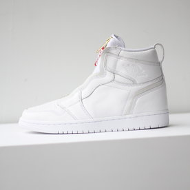 "AIR JORDAN W AIR JORDAN 1 HIGH ZIP ""WHITE"""