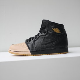 AIR JORDAN W RETRO 1 HI PREM - BLACK