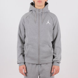 AIR JORDAN JUMPMAN FLEECE HOODIE- GREY
