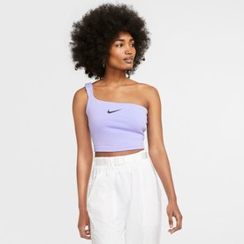 "NIKE W CROPPED TANK ""PURPLE"""