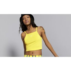"NIKE W ESSENTIAL TANK ""YELLOW"""