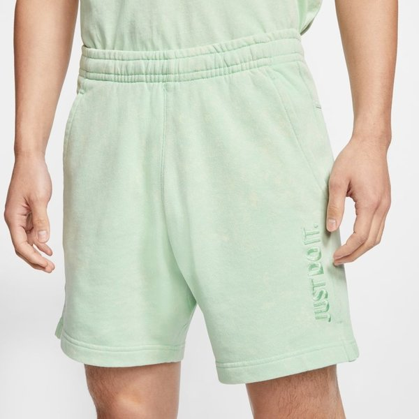 "NIKE JDI FRENCH TERRY SHORTS ""PISTACHIO"""