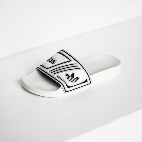 "ADIDAS ADILETTE SLIDES ""CLOUD WHITE"""