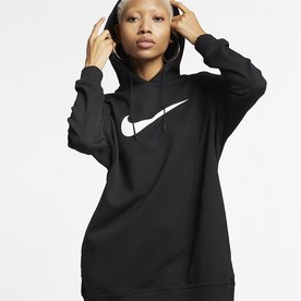 NIKE WMNS SWOOSH PULLOVER - BLK