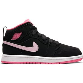 "AIR JORDAN JORDAN 1 MID (PS) ""PINK FOAM"""
