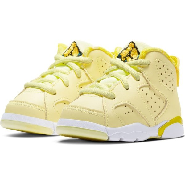 "AIR JORDAN AJ 6 RETRO (TD) ""CITRON TINT"""