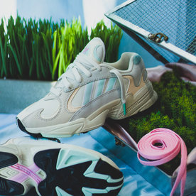 "ADIDAS YUNG-1 ""SAND/MINT"""
