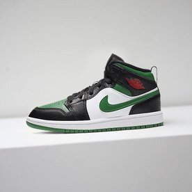 "AIR JORDAN JORDAN 1 MID ""PINE GREEN"" (PS)"
