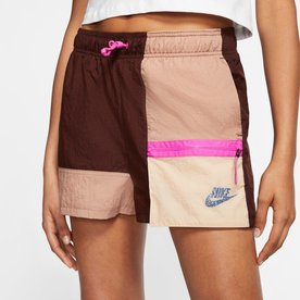 "NIKE W NSW ICON CLASH SHORTS ""DESERT DUST"""