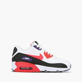 "NIKE AIR MAX 90 ""WHT/CRIMSON"" (GS)"