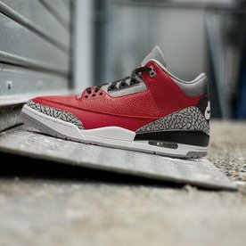 "AIR JORDAN JORDAN RETRO 3 ""FIRE RED"""