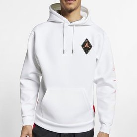 "AIR JORDAN AIR JORDAN HOODIE ""WHITE INFRARED"""