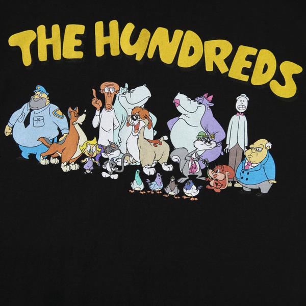 "THE HUNDREDS CREW T-SHIRT ""BLK"""