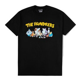 "THE HUNDREDS CREW T-SHIRT ""BLK"""