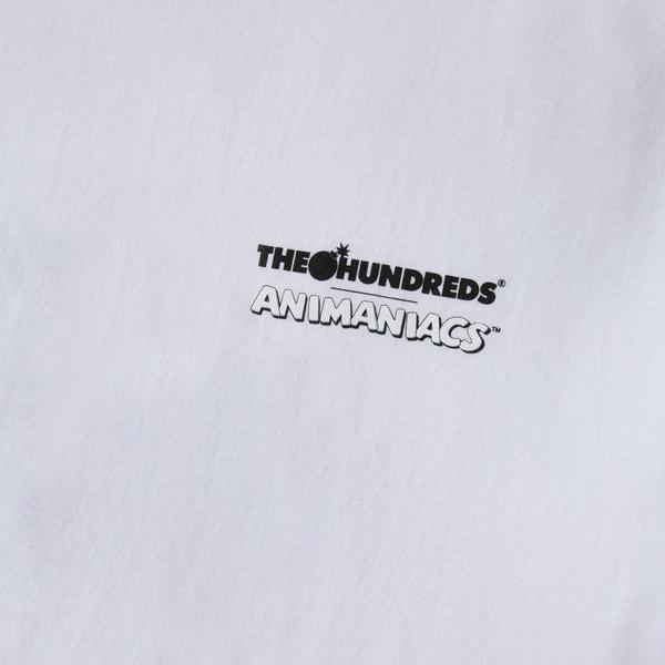 "THE HUNDREDS ANIMANIACS BOMB T-SHIRT ""WHITE"""
