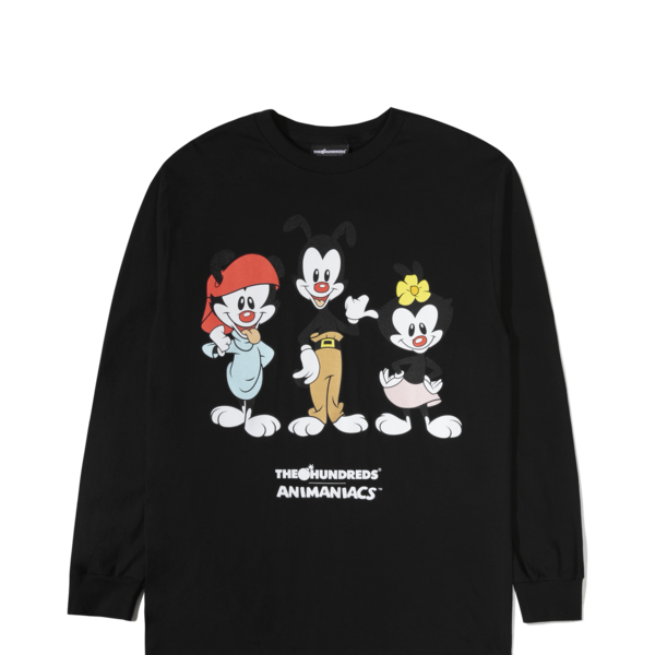 "THE HUNDREDS CHARACTER L/S ""BLK"""