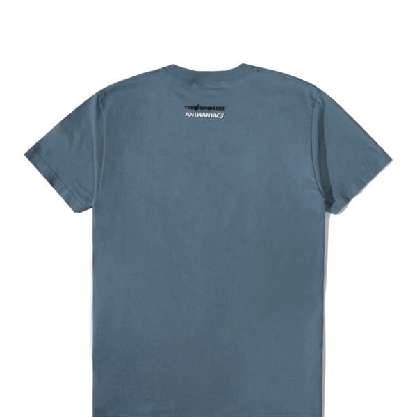 "THE HUNDREDS PINKY & BRAIN T-SHIRT ""SLATE BLUE"""