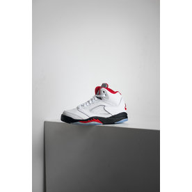 "AIR JORDAN JORDAN 5 RETRO ""FIRE RED"" (PS)"
