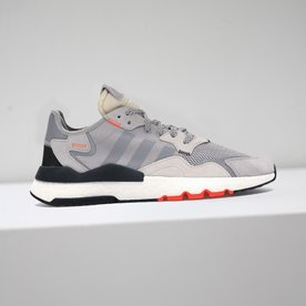 "ADIDAS NITE JOGGER ""GREY ORANGE"""