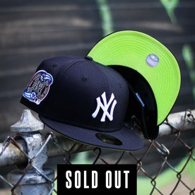 NEW ERA 2000 NEW YORK YANKEES NAVY FITTED W/ KIWI UNDER VISOR