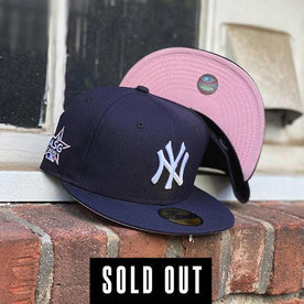 NEW ERA 2020 ALL-STAR NEW YORK YANKEES NAVY FITTED W/ PINK UNDER VISOR