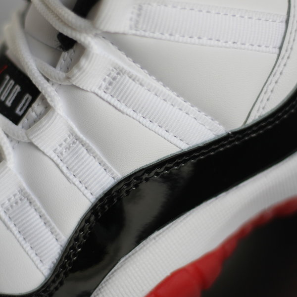 "AIR JORDAN JORDAN RETRO 11 LOW ""CONCORD BRED"" (GS)"