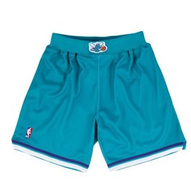 MITCHELL & NESS CHARLOTTE HORNETS AUTHENTIC SHORTS