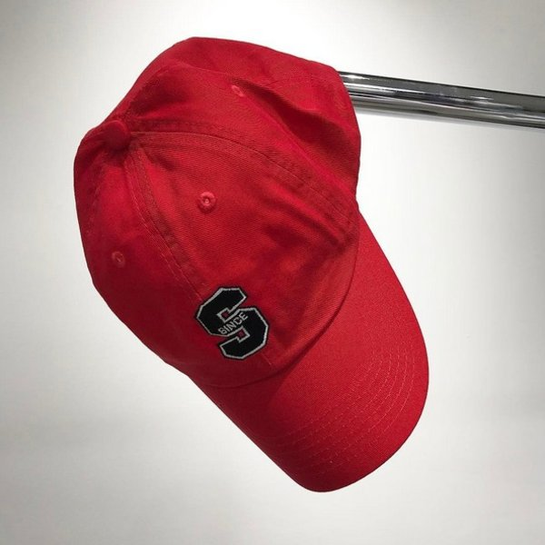 SNKRROOM SINCE '06 LOGO DAD CAP - RED