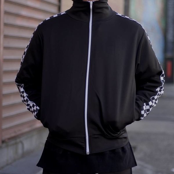 EPTM EPTM TRACK JACKET - CHECKERS