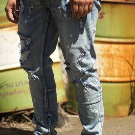 PACIFIC DENIM - LIGHT BLUE STONE