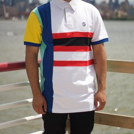 BILLIONAIRE BOYS CLUB BBC PS POLO - WHITE