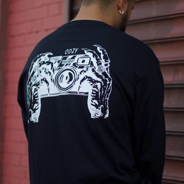 "TEAM COZY COZY FINGERS L/S ""BLK"""