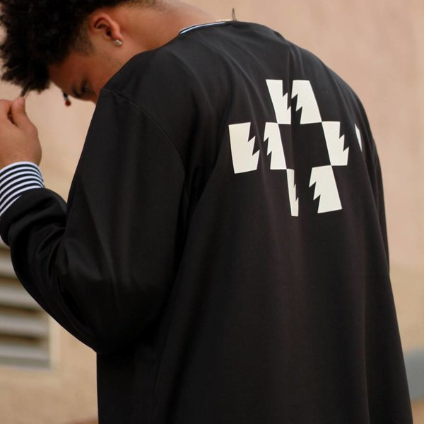 THE HUNDREDS HOWARD JERSEY - BLK