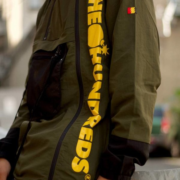 THE HUNDREDS TERRAIN JACKET - OLIVE