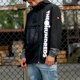 THE HUNDREDS TERRAIN JACKET - BLK