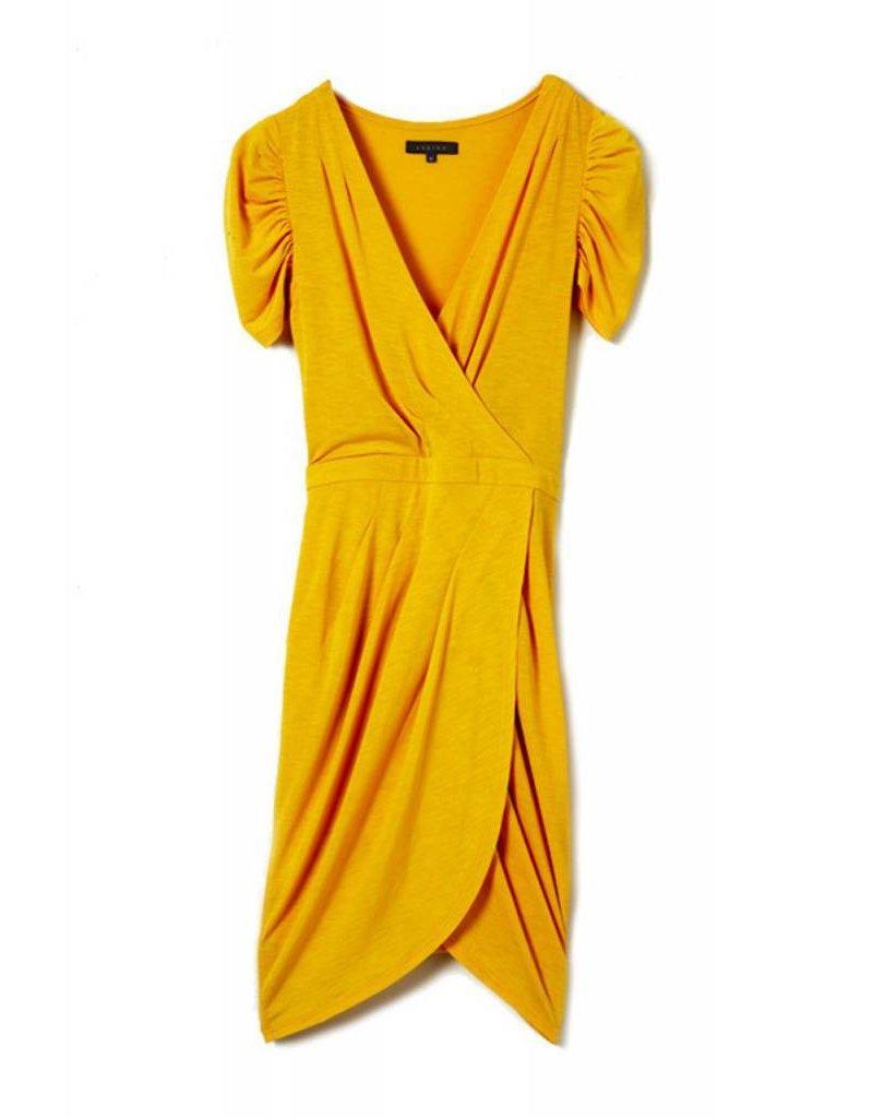 Carhart Mango, ananas lange jurk