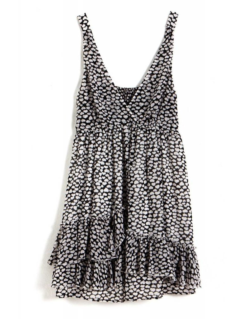 Carhart Collette, black kisses mid dress