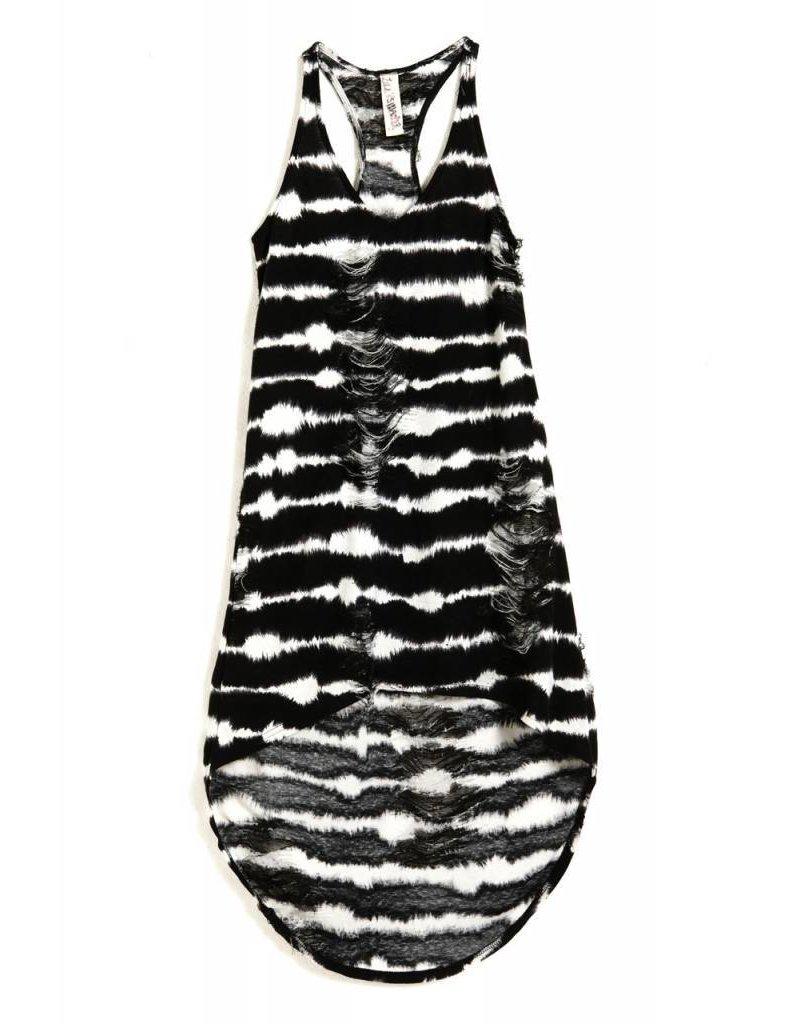 Carhart Collette, schwarz Küsse Mitte Kleid