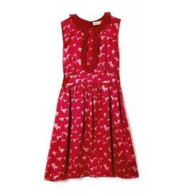 Coco Lee Sass & Bide, Meer von roten Blumendruckkleid