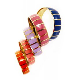 Coco Lee Anna, multi-colored bangles