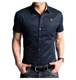 Chanel Gestippelde Mannen shirt