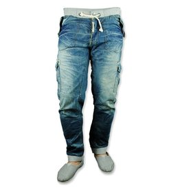 Coco Lee Men's Stonewash Jeans