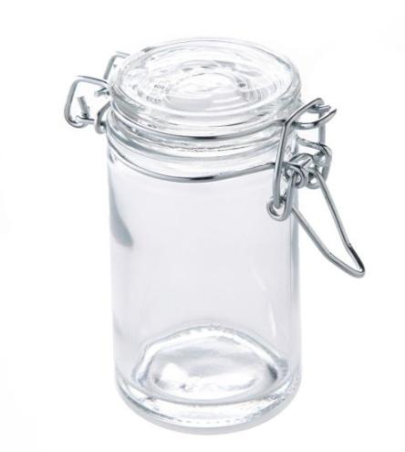 Small Glass Air Tight Jar