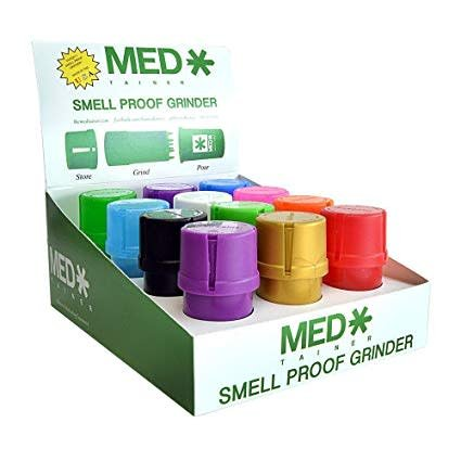 Medtainer Medtainer - Smell Proof Grinder - Assorted Colors