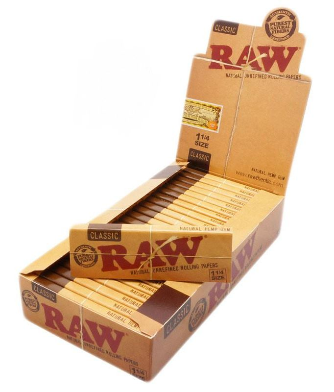 Raw RAW - Classic 1 1/4 Rolling Papers