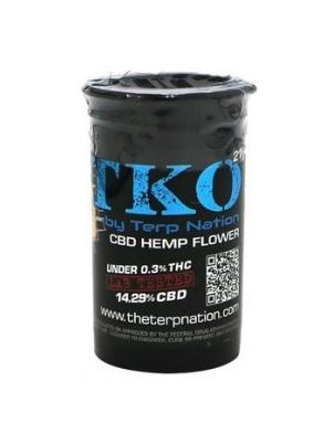 TKO TKO CBD Hemp Flower - 3.5 Grams