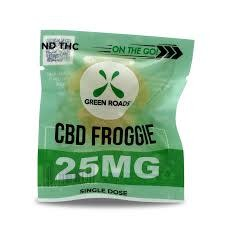 Green Roads - On the Go Froggies 25mg